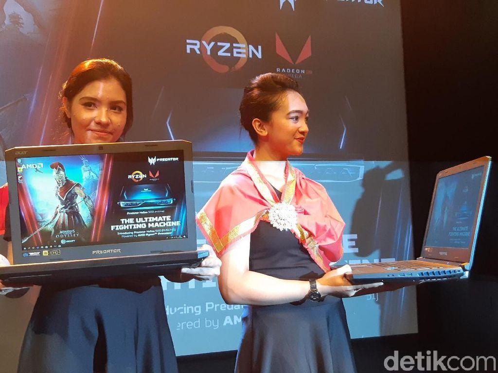 Versi Baru Predator Helios 500 Pakai AMD Ryzen Generasi Kedua