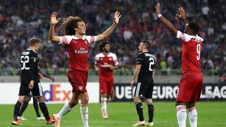 Hasil Liga Europa: Arsenal Bungkam Qarabag 3-0