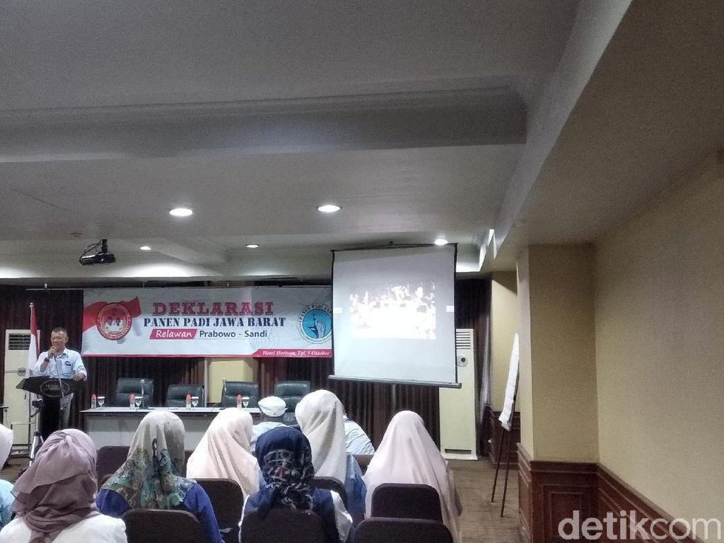 Kelompok Notaris di Bandung Deklarasi Dukung Prabowo-Sandiaga