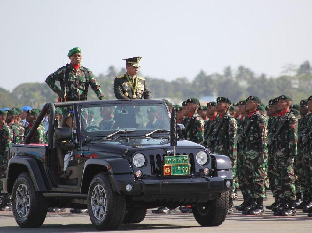 Panglima Targetkan 72% Rencana Strategis TNI Rampung pada 2019