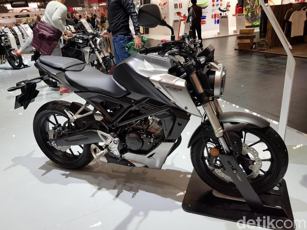 Moge Imut Bermesin 125cc dari Honda