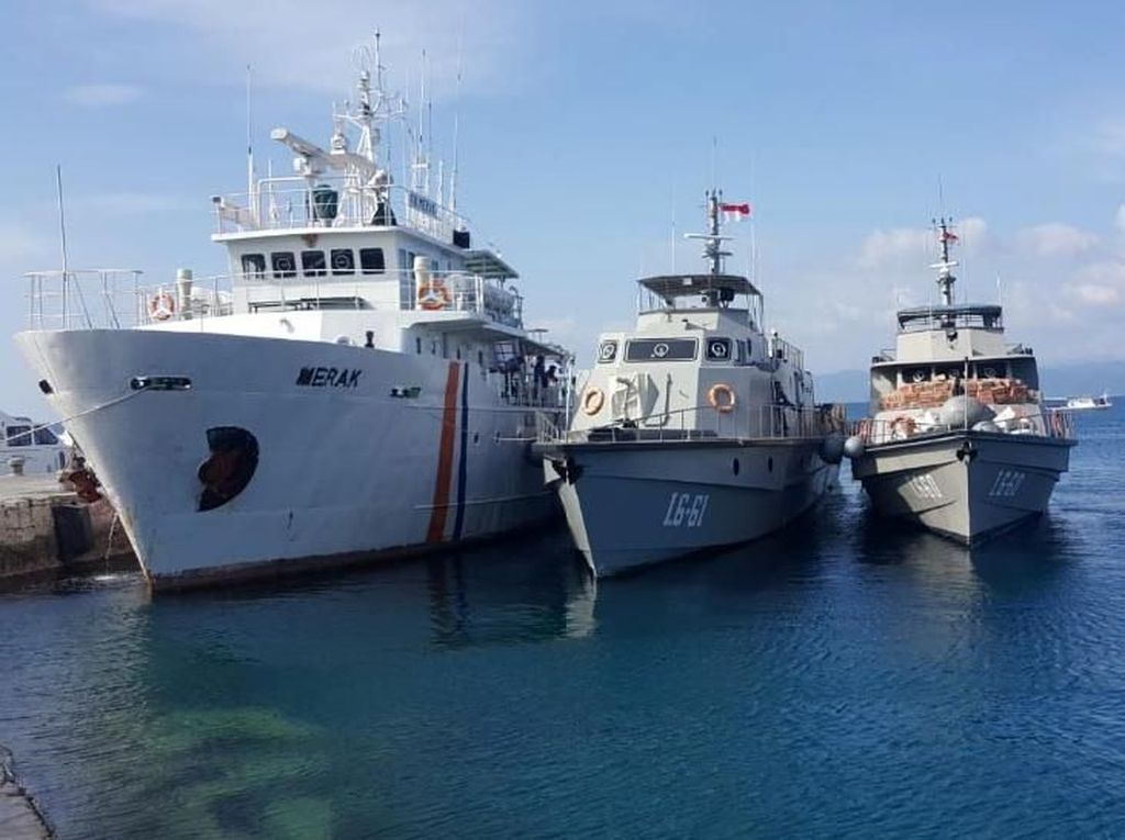 Bawa Sembako hingga Crane, 5 Kapal Tiba di Palu dan Donggala
