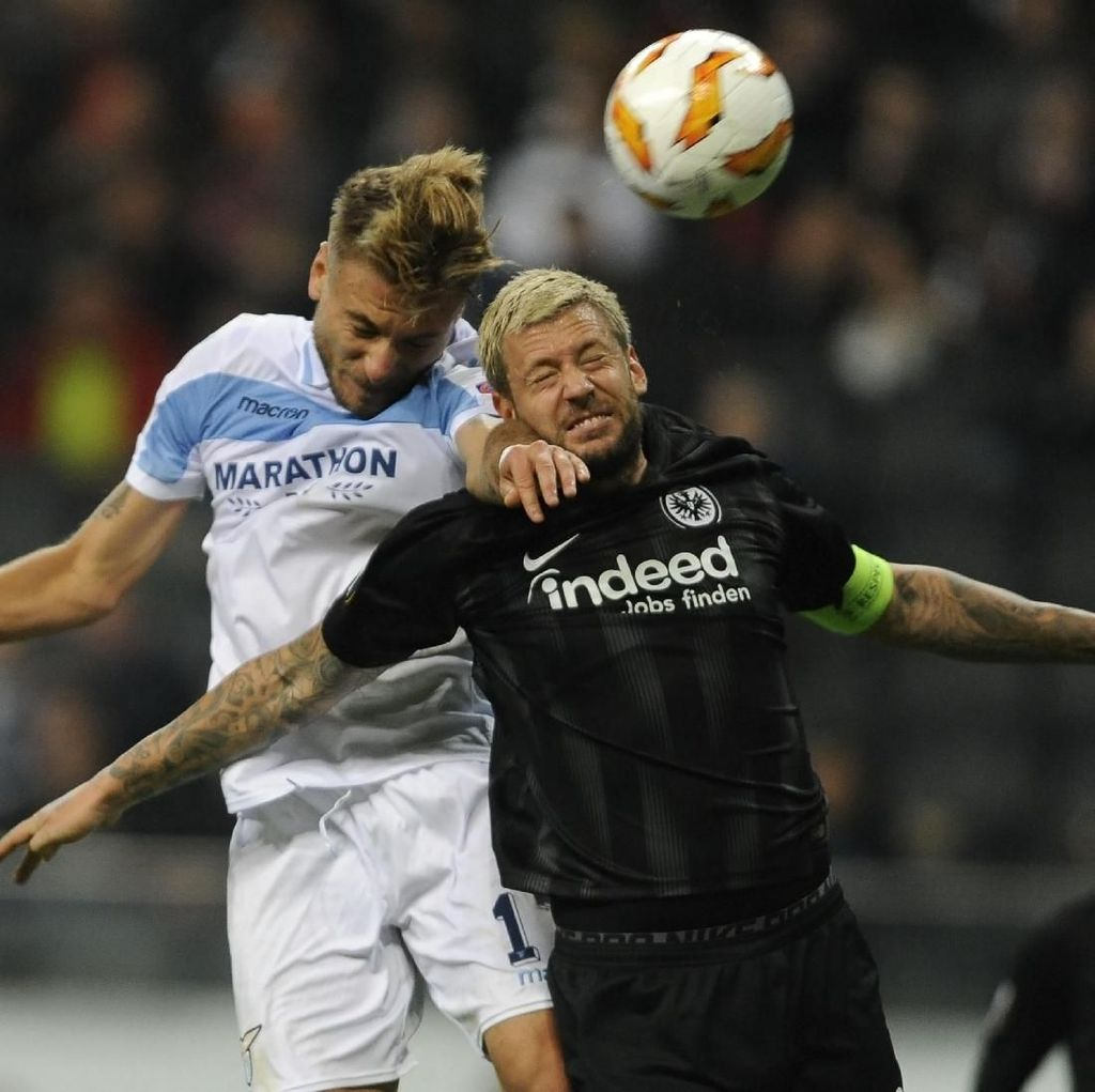 Hasil Liga Europa: Lazio Remuk di Markas Eintracht Frankfurt