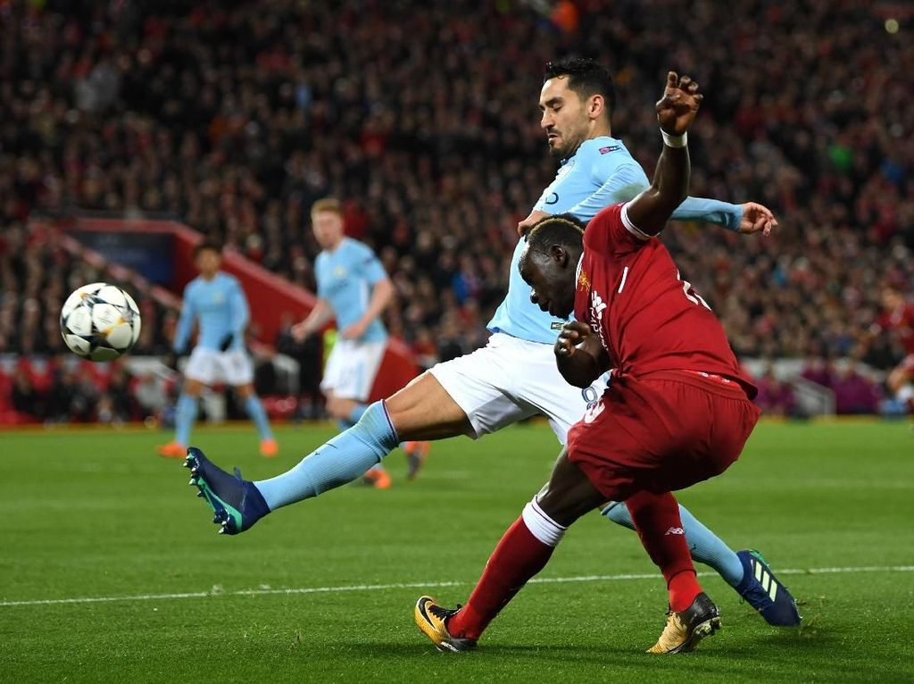 Liverpool Laga Tandang Terberat bagi City di Musim Ini