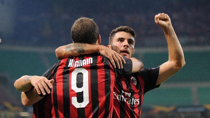AC Milan dinilai masih butuh waktu untuk berjaya kembali. (Foto: REUTERS/Daniele Mascolo)