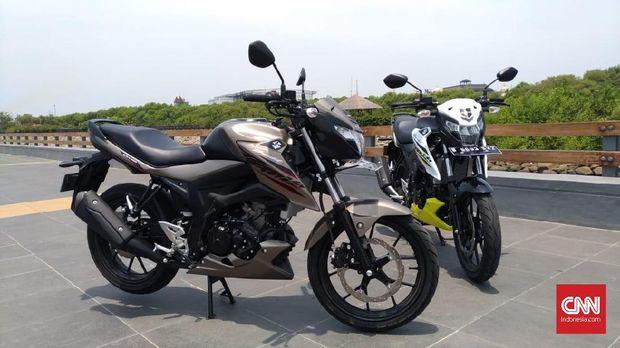 Suzuki Belum Berani Lawan Yamaha R25 Cs
