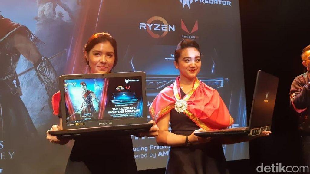 Ini Predator Helios 500, Laptop Gaming dengan AMD Ryzen 7