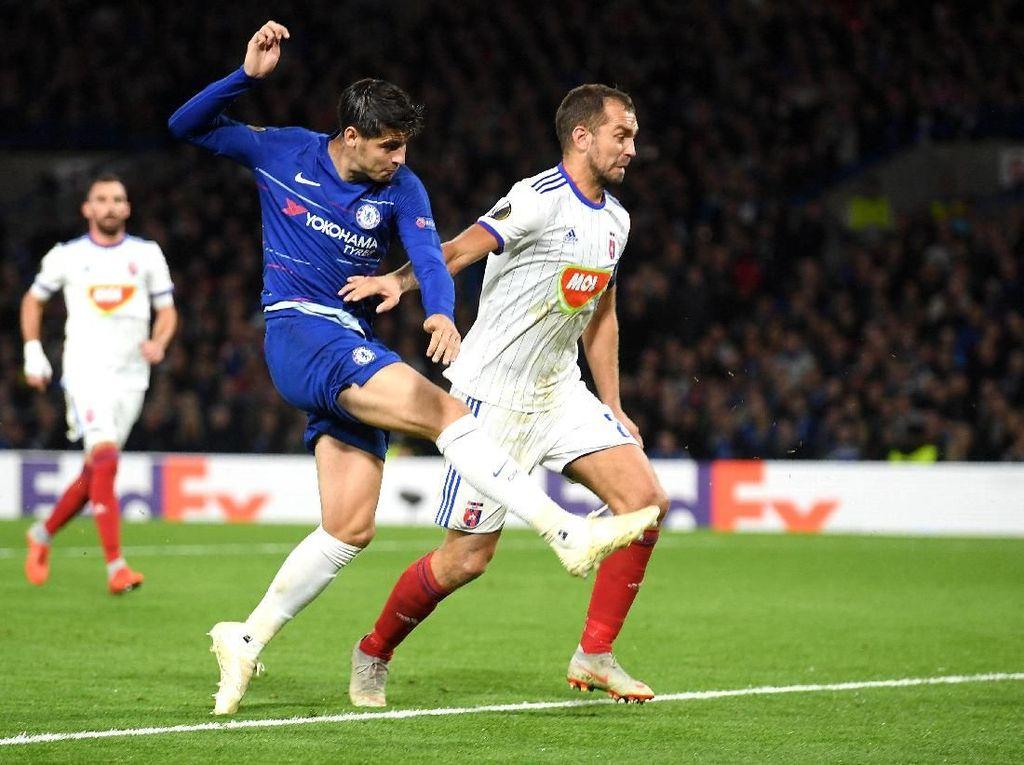 Hasil Liga Europa: Chelsea Susah Payah Kalahkan Vidi