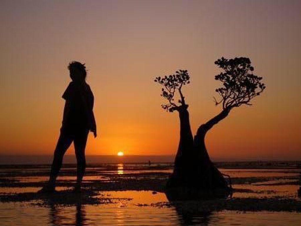 Masya Allah Cantiknya, Sunset di Walakiri Sumba Ini
