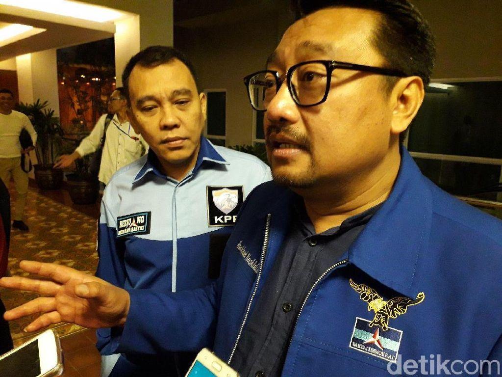 Elite Demokrat Tepis Moeldoko, Sebut Pertemuan Kudeta Terjadi di Hotel