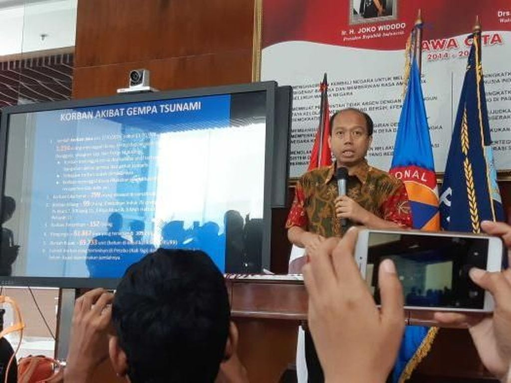 BNPB Sulit Cari Ekskavator Amfibi untuk Angkat Korban Likuifaksi