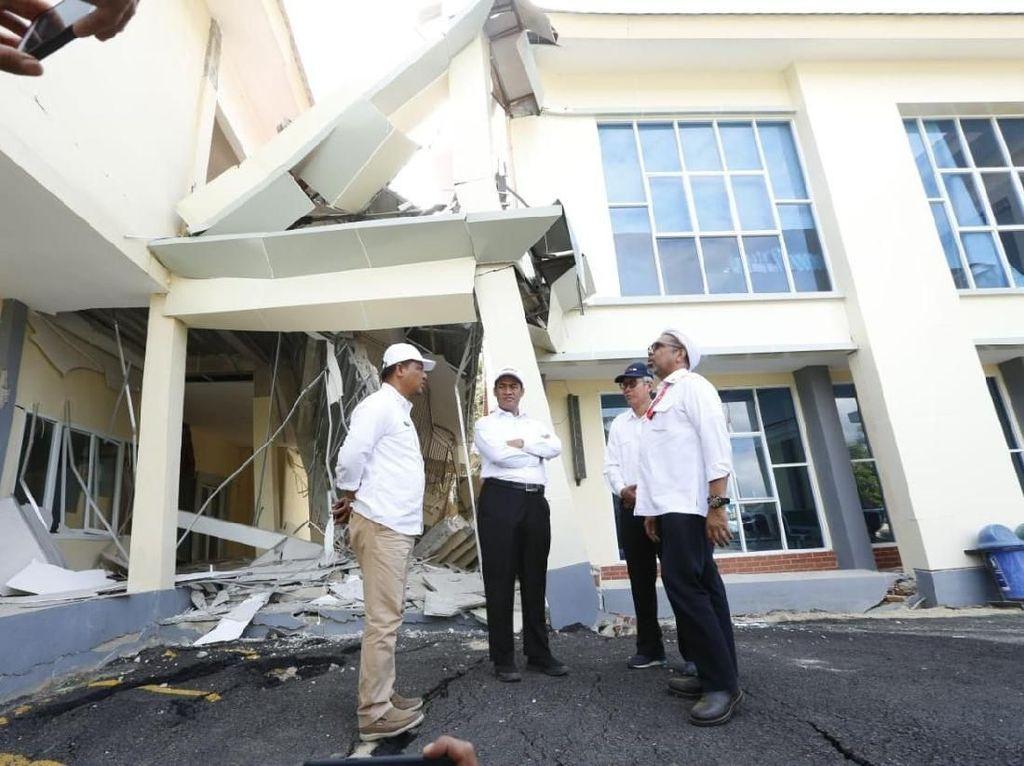 Mentan Salurkan Bantuan Rp 25 M untuk Korban Gempa Sulteng