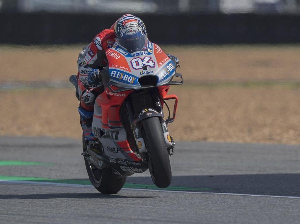 Kualifikasi MotoGP Jepang: Dovizioso Start Terdepan, Marquez Keenam