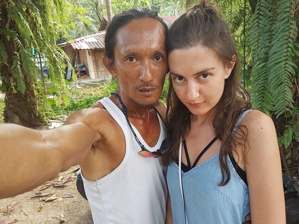 Viral Pose dengan Gadis Cantik Rusia, Manusia Gua Diperiksa
