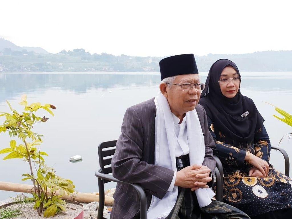 Tips Maruf Amin biar Tetap Bugar Selama Safari Pilpres
