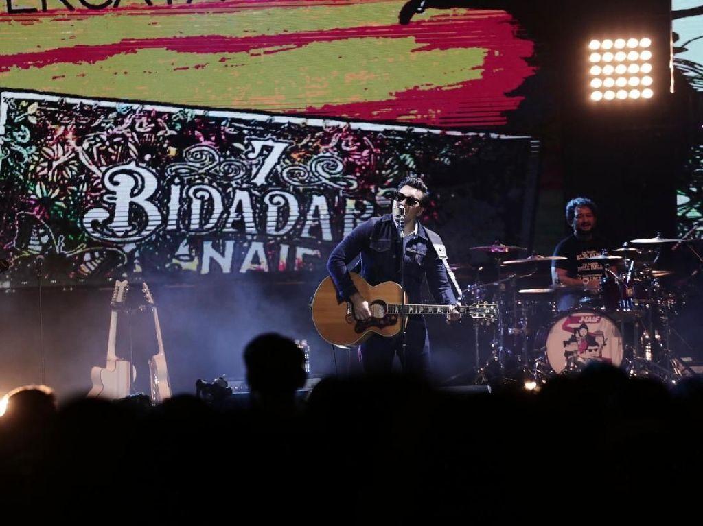 Lirik dan Chord 7 Bidadari oleh Naif