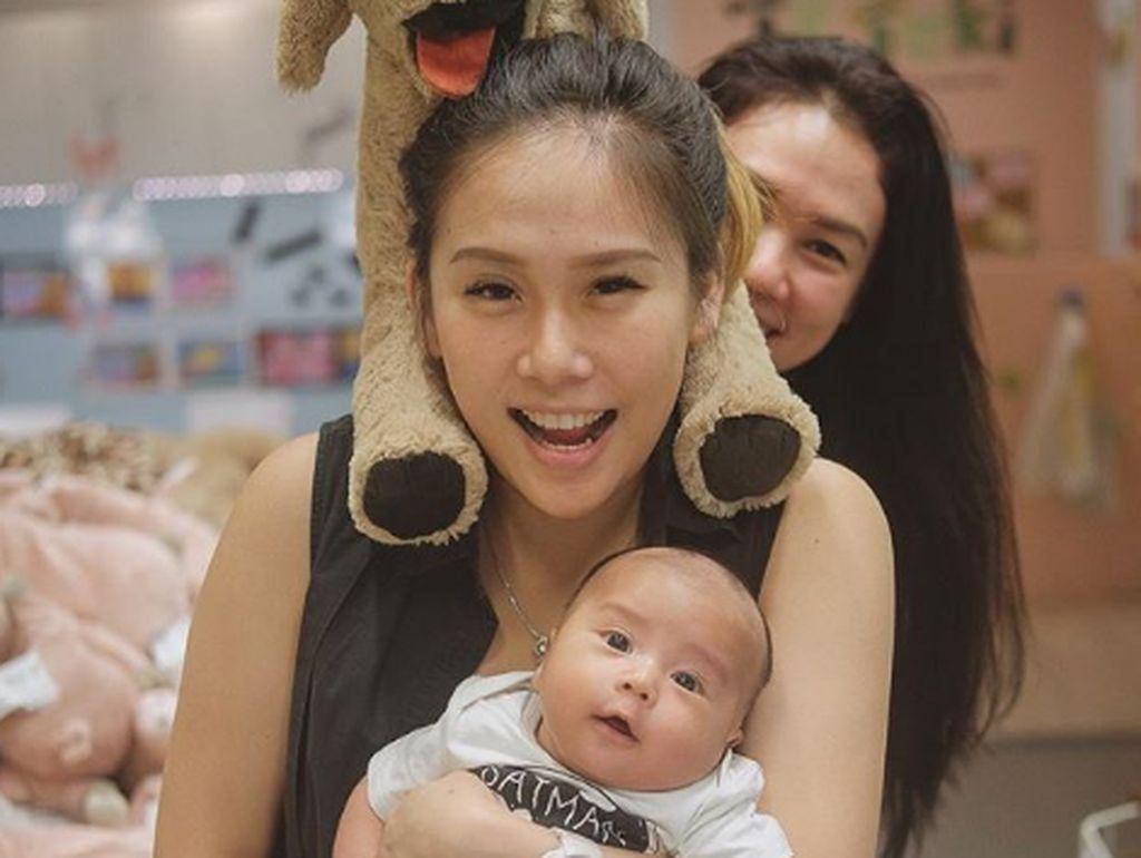 8 Foto Gemas Ryu, Anak Cherly Eks Cherrybelle
