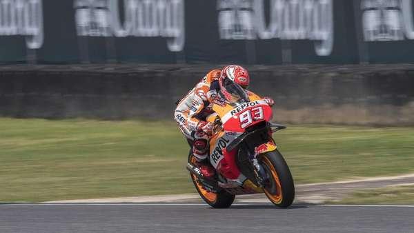 Selangkah Lagi Kunci Gelar Juara Dunia, Marquez: Tetap Fokus dan Tenang