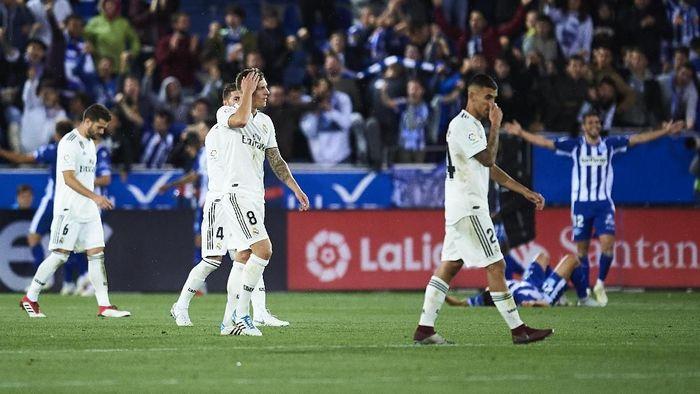 Real Madrid tidak disarankan beli penyerang baru di Januari. (Foto: Juan Manuel Serrano Arce/Getty Images)