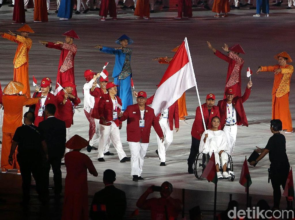 RI Peringkat 5 Asian Para Games, JK: Target Meleset ke Atas