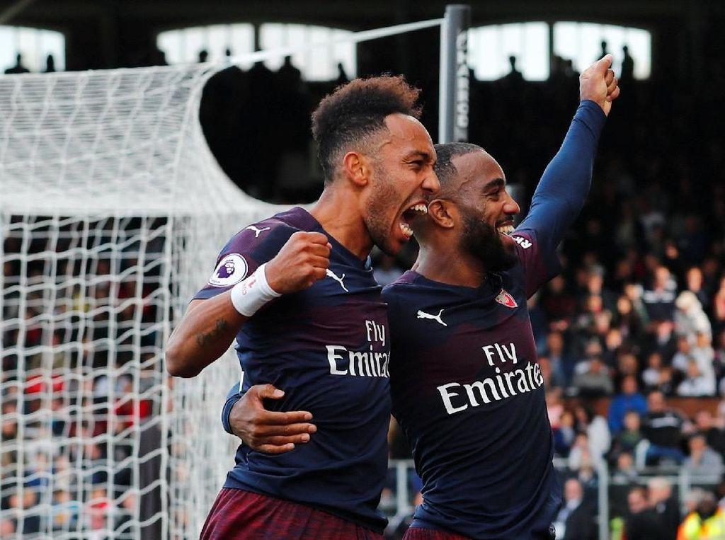 Lacazette: Aubameyang Jadi Kapten Arsenal? Cocok, Kok