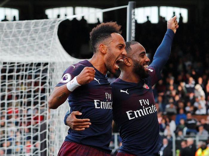 Arsenal meraih kemenangan kesembilan secara beruntun (REUTERS/Eddie Keogh)