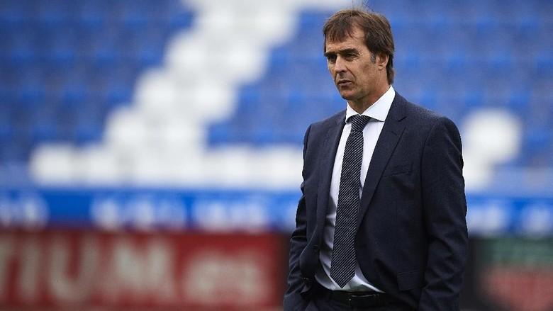Masa Depan Julen Lopetegui Sebagai Pelatih Real Madrid Dispekulasikan Menyusul hasil Negatif yagn Dituai Los Blancos