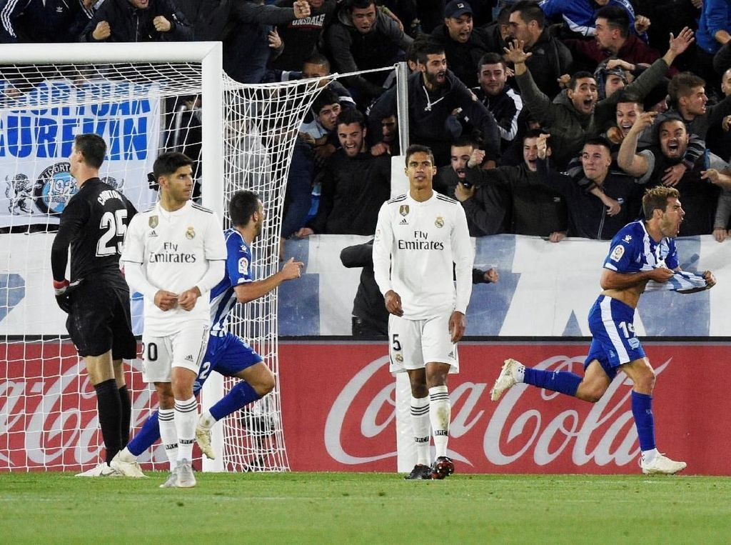 Madrid Tunduk di Kandang Alaves