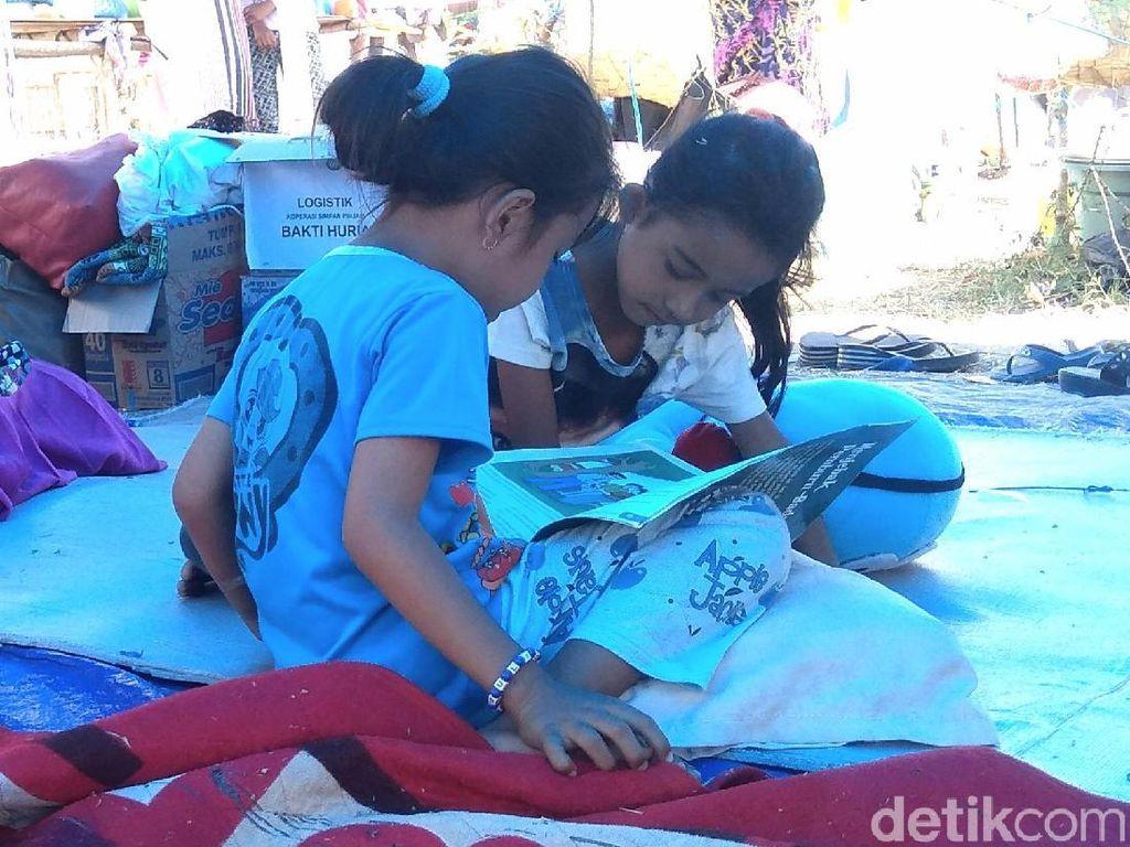 1.043 Tenda Sudah Dibangun untuk Sekolah Darurat di Sulteng