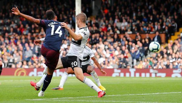 Hasil Liga Inggris: Arsenal Gilas Fulham 5-1