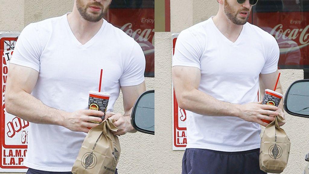 Chris Evans, Captain America yang Doyan Popcorn
