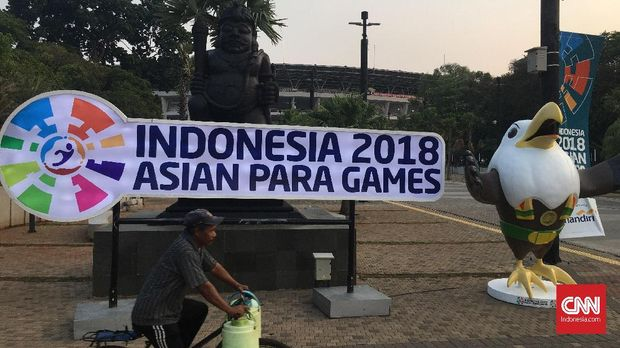 Indonesia ditarget meraih 16 medali emas di Asian Para Games 2018.