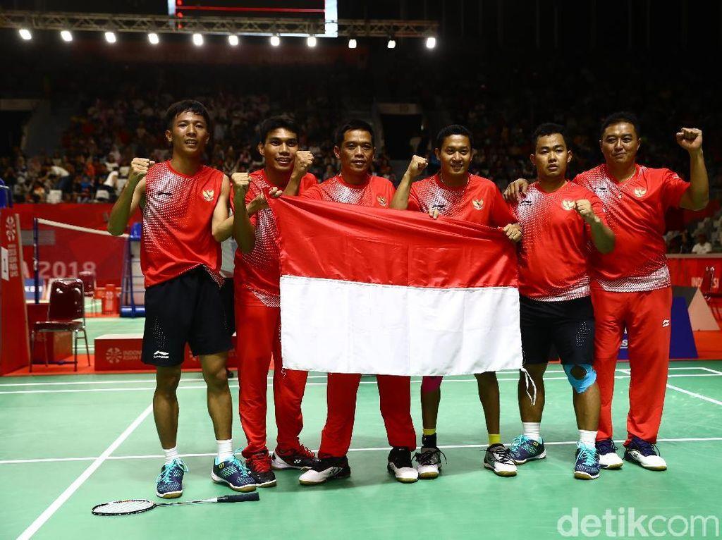 Bulutangkis Persembahkan Emas Pertama untuk Indonesia di Asian Para Games