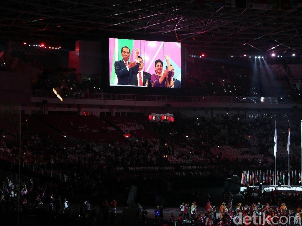 Jokowi Meruntuhkan Keterbatasan di Opening Asian Para Games