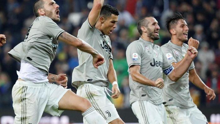 Juventus masih sempurna, tapi bukan berarti mereka tidak tak terkalahkan (Stefano Rellandini/Reuters)