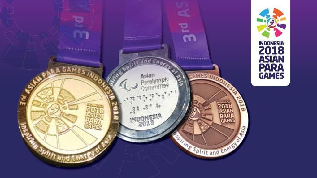 Ada Huruf Braille dan Kerincingan di Medali Asian Para Games
