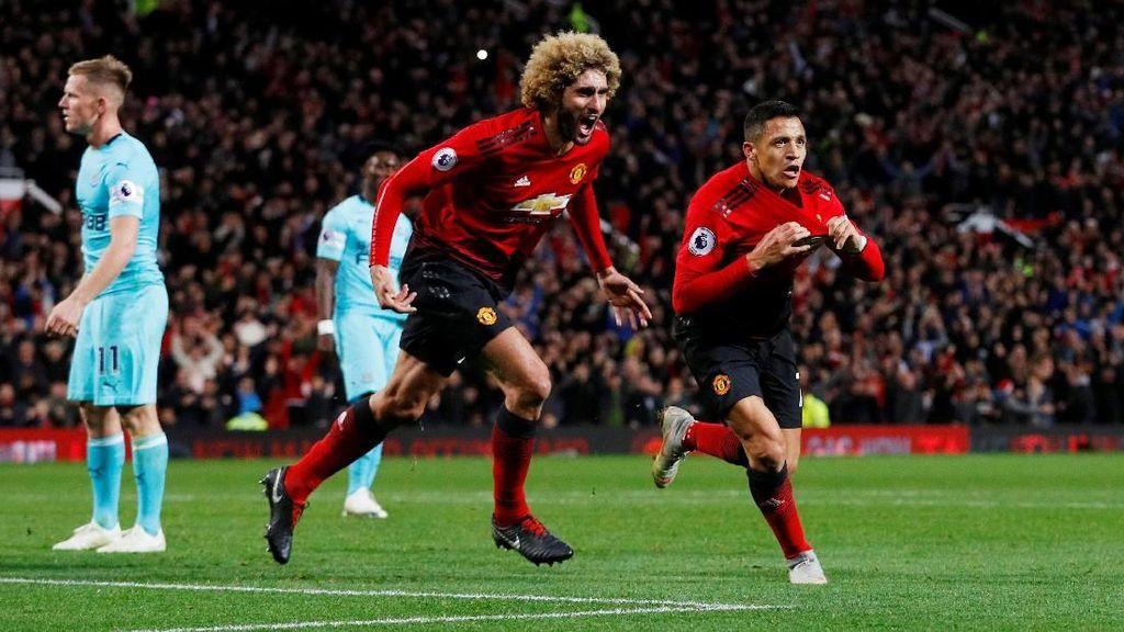 Kemenangan Dramatis Manchester United