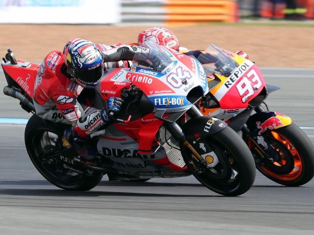 Marquez Tuntaskan Dendam ke Dovizioso