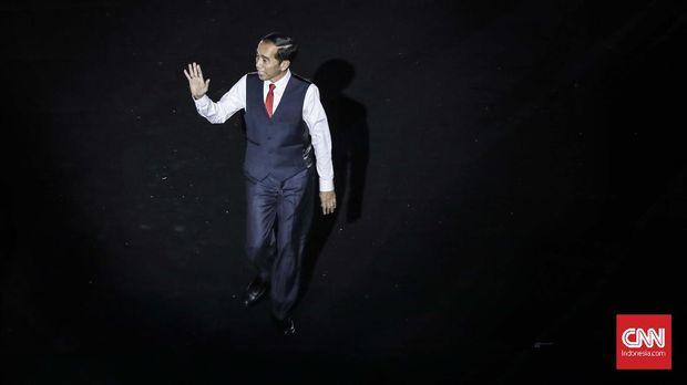 Presiden Jokowi menghadiri pembukaan Asian Para Games 2018.