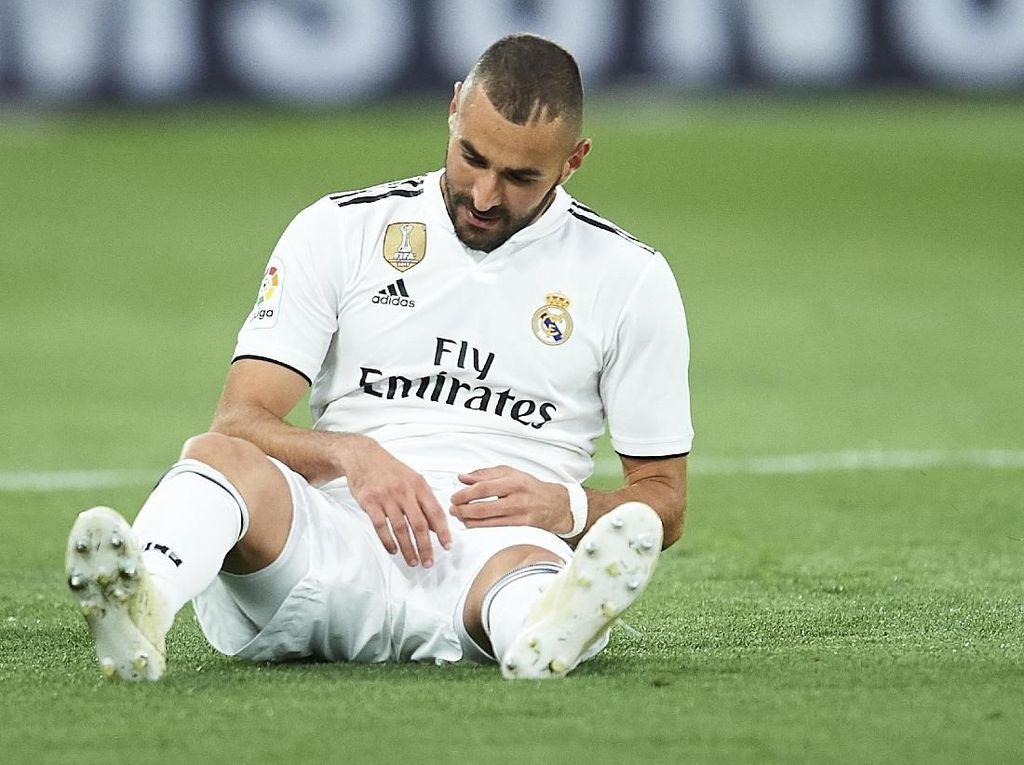 Benzema dan Bale Cedera