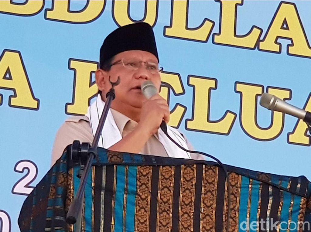 Hanura soal Prabowo Dikepung: Desperate