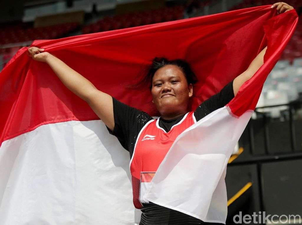 Suparniyati Tambah Koleksi Emas Indonesia lewat Tolak Peluru