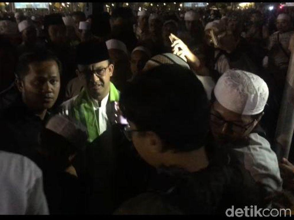 Susul Sandiaga-Gatot Nurmantyo, Anies Hadiri Tabligh Akbar di Monas