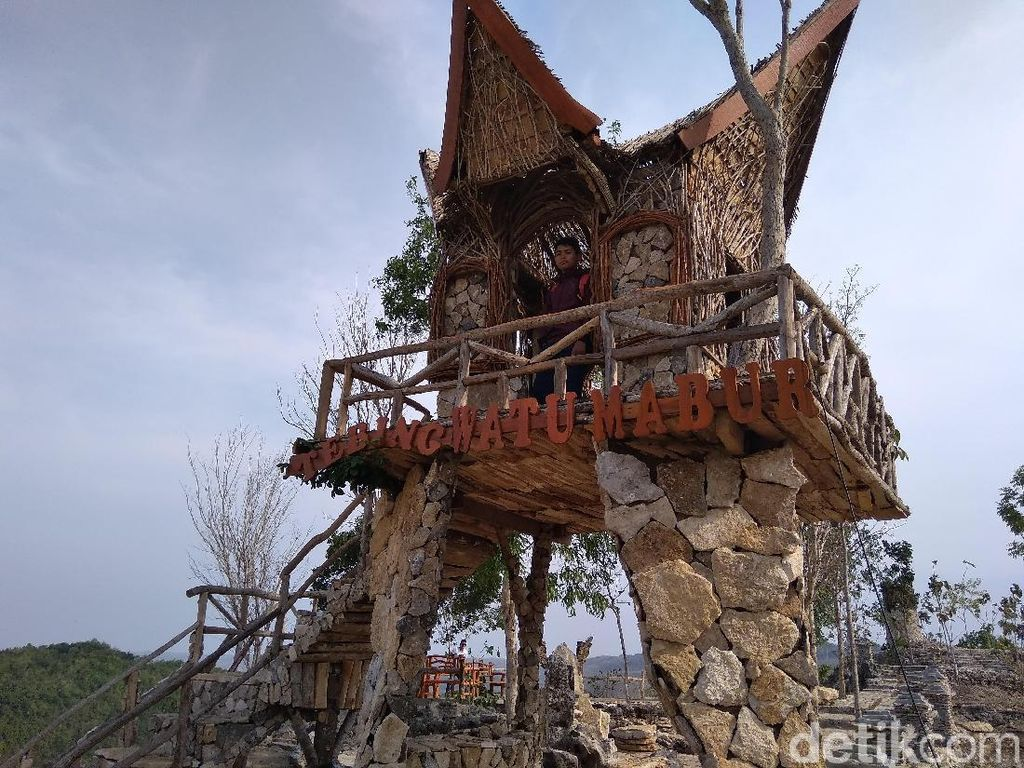 Watu Mabur, Destinasi Instagramable dari Bantul