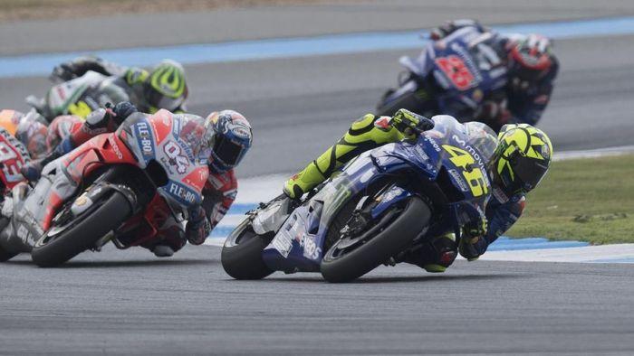 Valentino Rossi bertekad membuktikan kebangkitan Yamaha di MotoGP Jepang akhir pekan nanti. (Foto: Mirco Lazzari gp/Getty Images)