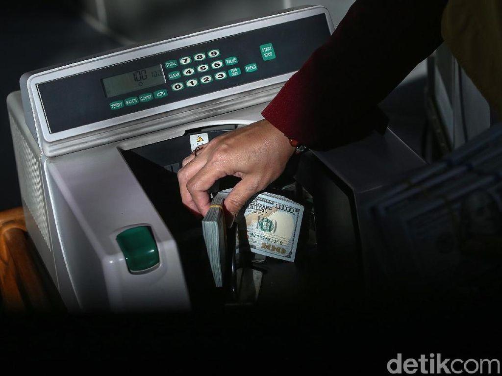 Dolar AS Naik Lagi ke Rp 14.145