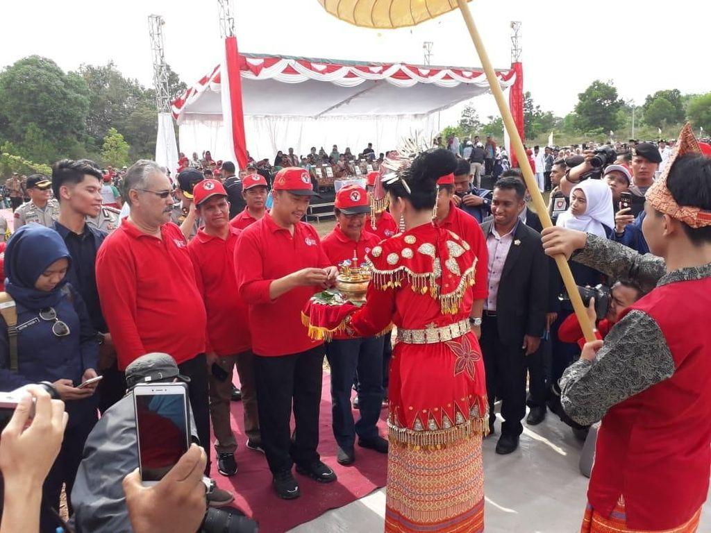 Jambore Pemuda Indonesia Resmi Dibuka Imam Nahrawi di Babel