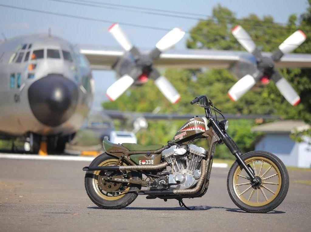 Harley-Davidson Belo Negoro, Dedikasi Anak Motor untuk TNI