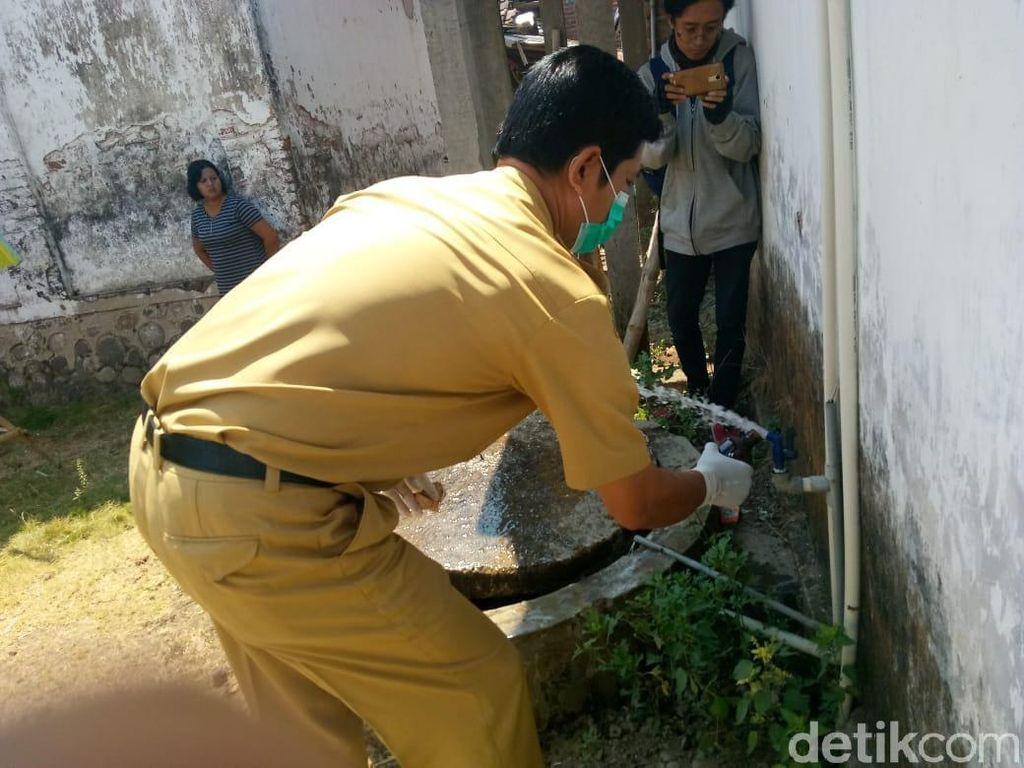 Keracunan Massal di Mojokerto, Air Tanah Warga juga Diperiksa
