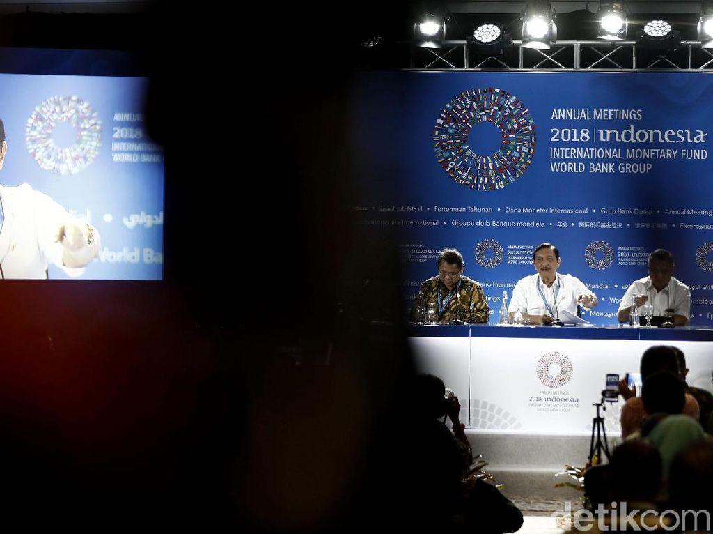 Ramai Soal Anggaran IMF, Luhut dan Panitia Nasional Buka Suara